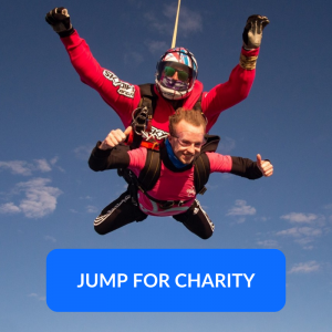 Jump for Charity Button